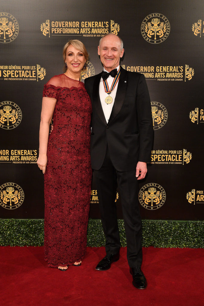 Colm and Donna Feore at Governor Generals Awards