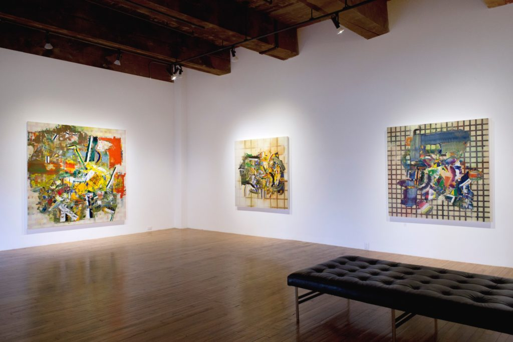 Rasmussen's exhibition at the Christopher Cutts gallery
